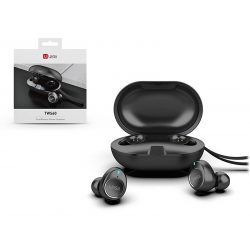 UiiSii Bluetooth sztereó headset v5.0 + töltőtok - UiiSii TWS60 Wireless Headset - black
