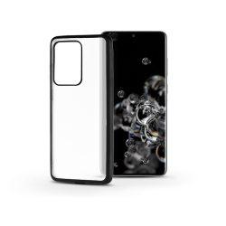 Samsung G988F Galaxy S20 Ultra szilikon hátlap - Electro Matt - fekete