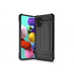 Samsung A515F Galaxy A51 ütésálló hátlap - Armor - fekete