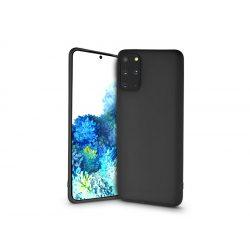 Samsung G985F Galaxy S20+ szilikon hátlap - Soft - fekete