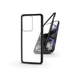 Samsung G988F Galaxy S20 Ultra mágneses, 2 részes hátlap előlapi üveg nélkül - Magneto  fekete