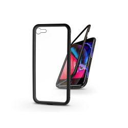 Apple iPhone 7/iPhone 8/SE 2020 mágneses, 2 részes hátlap előlapi üveg nélkül - Magneto  fekete
