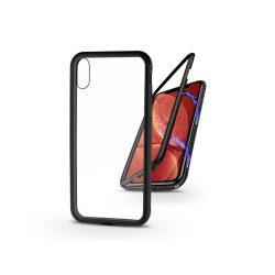 Apple iPhone XR mágneses, 2 részes hátlap előlapi üveg nélkül - Magneto  fekete