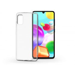 Samsung A415F Galaxy A41 szilikon hátlap - Soft Clear - transparent
