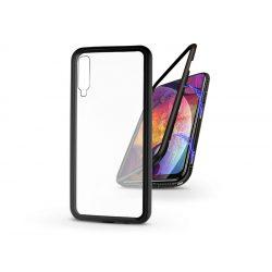 Samsung A505F Galaxy A50/A30s mágneses, 2 részes hátlap előlapi üveg nélkül - Magneto - fekete