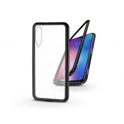 Xiaomi Mi 9 SE mágneses, 2 részes hátlap előlapi üveg nélkül - Magneto - fekete