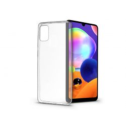 Samsung A315F Galaxy A31 szilikon hátlap - Soft Clear - transparent