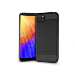 Huawei Y5p/Honor 9S szilikon hátlap - Carbon - fekete