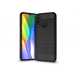 Huawei Y6p szilikon hátlap - Carbon - fekete