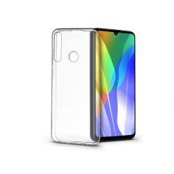 Huawei Y6p szilikon hátlap - Soft Clear - transparent