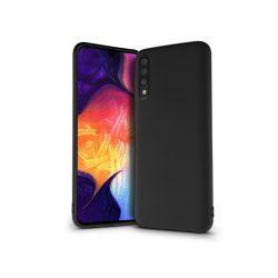 Samsung A505F Galaxy A50/A30s szilikon hátlap - Soft Premium - fekete