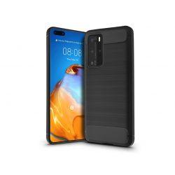 Huawei P40 Pro szilikon hátlap - Carbon - fekete