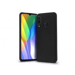 Huawei Y6p szilikon hátlap - Soft Premium - fekete