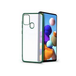 Samsung A217F Galaxy A21s szilikon hátlap - Electro Matt - zöld