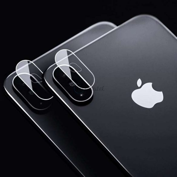 Hátsó kameralencse védő edzett üveg - Apple iPhone 7/8/SE 2020 - transparent