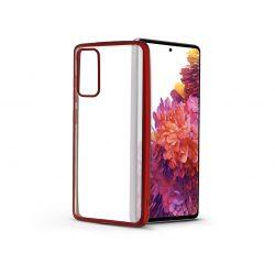 Samsung G780F Galaxy S20 FE/S20 FE 5G szilikon hátlap - Electro Matt - piros
