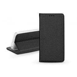 S-Book Flip bőrtok - Xiaomi Redmi Note 9 - fekete