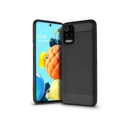 LG K52/K62 szilikon hátlap - Carbon - fekete