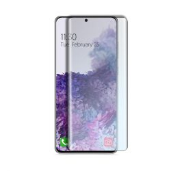 Samsung Galaxy S20 SM-G980 karcálló edzett üveg HAJLÍTOTT TELJES KIJELZŐS Tempered Glass kijelzőfólia kijelzővédő fólia kijelző védőfólia eddzett