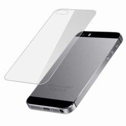 Apple iPhone 5 5S 5C SE karcálló edzett üveg hátlapvédő tempered glass kijelzőfólia kijelzővédő fólia kijelző védőfólia Iphone SE