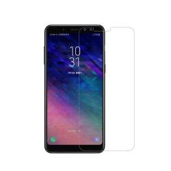 Samsung Galaxy A8 Plus + 2018 karcálló edzett üveg Tempered Glass kijelzőfólia kijelzővédő fólia kijelző védőfólia eddzett A730F
