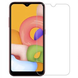 Samsung Galaxy A01 karcálló edzett üveg Tempered Glass kijelzőfólia kijelzővédő fólia kijelző védőfólia eddzett SM-A515