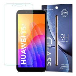 Huawei Y5P karcálló edzett üveg Tempered glass kijelzőfólia kijelzővédő fólia kijelző védőfólia