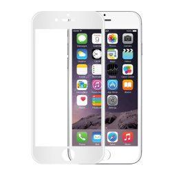 Apple iPhone 7 Plus 8 Plus edzett üveg 5D FEHÉR TELJES KÉPERNYŐS FULL SCREEN HAJLÍTOTT tempered glass kijelzőfólia kijelzővédő védőfólia karcálló kijelzős