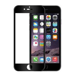 Apple iPhone 7 8 SE 2020 edzett üveg 5D FEKETE TELJES KÉPERNYŐS FULL SCREEN HAJLÍTOTT tempered glass kijelzőfólia kijelzővédő védőfólia karcálló kijelzős