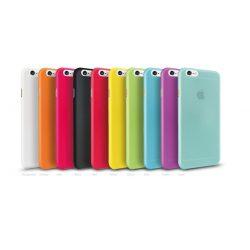 """iPhone 7 és Iphone 8 (4,7"""") vékony matt telefontok szilikontok tok tartó Apple többszínű"""