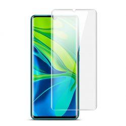 Xiaomi Mi Note 10 / Mi Note 10 Pro / CC9 Pro karcálló edzett üveg HAJLÍTOTT TELJES KIJELZŐS Tempered Glass kijelzőfólia kijelzővédő fólia kijelző védőfólia eddzett UV kötésű
