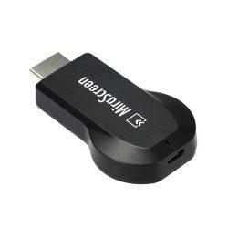 Miracast Airplay DLNA Adapter HDMI TV és Monitor Okosító Windows Android Iphone iOS 1080p cromecast ezcast Full HD MHL Mirascreen slimport képernyőtükrözés