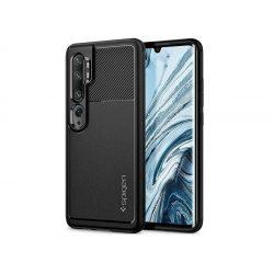 Xiaomi Mi Note 10/Note 10 Pro ütésálló hátlap - Spigen Rugged Armor - fekete