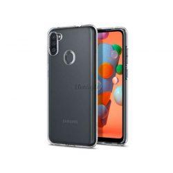 Samsung A115F Galaxy A11 ütésálló hátlap - Spigen Liquid Crystal - átlátszó