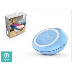 Devia Qi univerzális vezeték nélküli töltő állomás - 5V/2A - Devia Fast Wireless Charger - blue - Qi szabványos