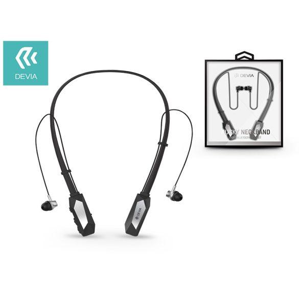 Devia Sport Bluetooth sztereó fülhallgató v4.1 - Kucky Neckband - black