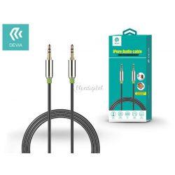 3,5 - 3,5 mm jack audio kábel 1 m-es vezetékkel - Devia iPure Audio Cable - black