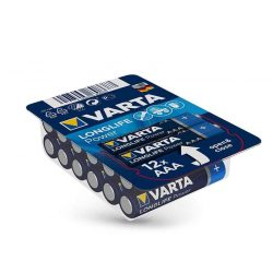 VARTA Longlife Power Alkaline AAA ceruza elem - 12 db/csomag