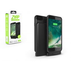Apple iPhone 6/6S/7/8/X akkumulátoros hátlap - Zypp Power Case - 2500 mAh -  black